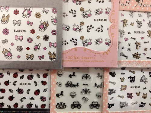 STICKERS ONGLES ANIMAUX